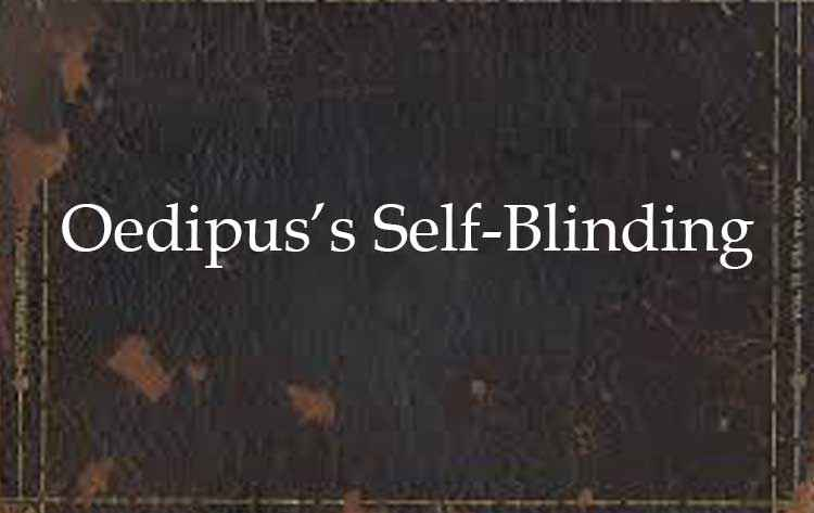 Oedipus's-Self-Blinding