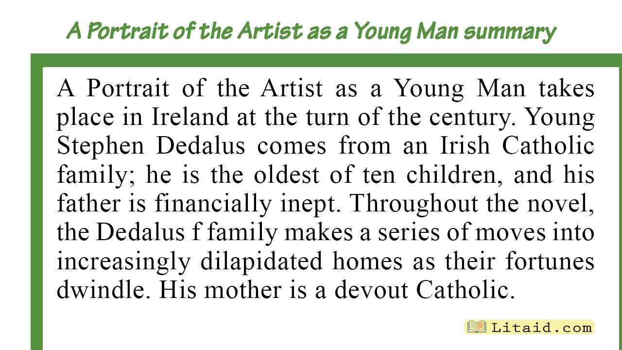 A-Portrait-of-the-Artist-as-a-Young-Man-summary-Part-One