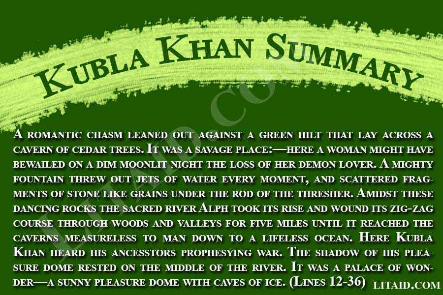 kubla-khan-summary-two