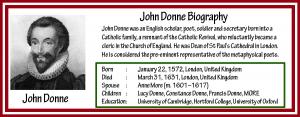 John Donne Biography
